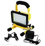 USA Premium Store SUPER BRIGHT 70 LED RECHARGEABLE CORDLESS WORKLIGHT PORTABLE WORK LIGHT 12V