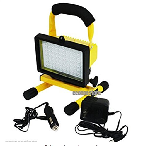 USA Premium Store SUPER BRIGHT 70 LED RECHARGEABLE CORDLESS WORKLIGHT PORTABLE WORK LIGHT 12V by USA Premium Store