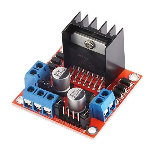 (Dual H Bridge Stepper Motor Drive Controller Board Module for Arduino L298N)