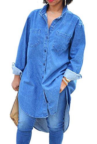 Buy maxi dress and denim shirt - 3