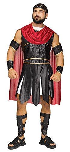 (Fun World Men's Roman Soldier Costumes, Multi,)