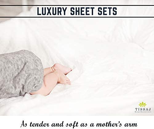 Details about  /Cushy Bedding Fitted Sheet Set Deep Pocket Organic Cotton US King Size All Strip