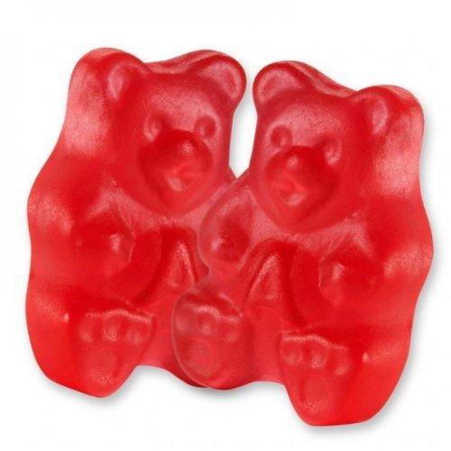(Albanese Rockin Red Raspberry Gummy Bears, 2LBS)