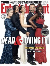 Entertainment Weekly Magazine (September 29, 2017) The Walking Dead 100th Episode - Entire Cast Cover 3 of 3