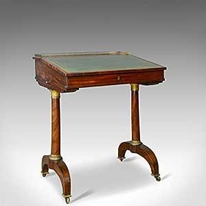 London Fine Antiques 1820 - Mesa de Escritorio (Madera de Caoba ...
