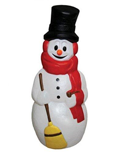 General Foam Painted Blow Mold Snowman 40''