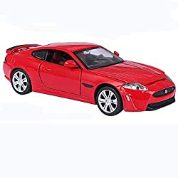 GYZS-TOY Jaguar Alloy Car Model XKR-S Sports Car Pull Back Sound and Light Toy Car Metal Car Racing from GYZS-TOY