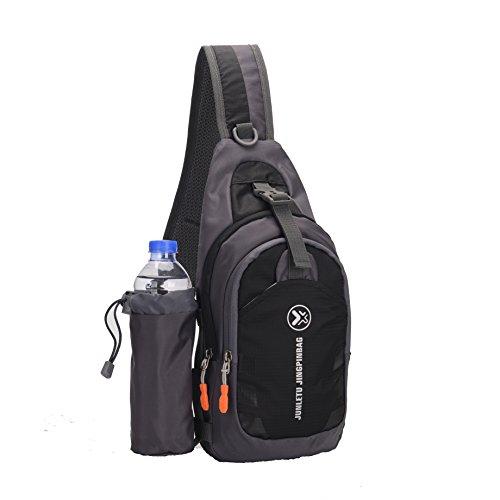 Sling Bag backpack Outdoor Shoulder Waterproof Unbalance Crossbody Bag Chest Pack Bike (Riding Bag)