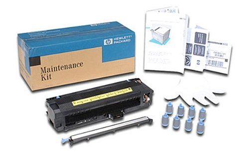 Hewlett Packard C3914A OEM Mono Laser Maintenance - HP LaserJet 8100c8150 Series Maintenance Kit 110Vc Contains Fuser Assembly Transfer Roller Assembly 8 Feed Separation Rollers 350000 - Roller Fuser Kit Contains Transfer