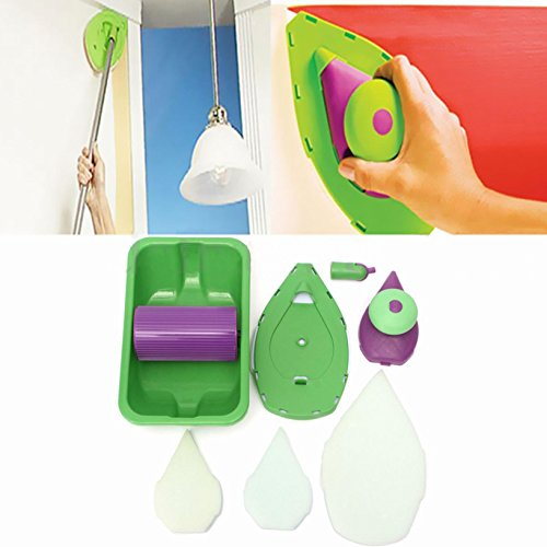 toyofmine-point-n-paint-easy-paint-pads-point-painting-roller-tray-multifunction-tool-and-3-sponge-set-kit