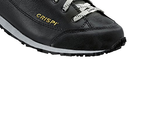 Bassa Taglia Unisex Crispi Leather Isy Gtx Black 41 Nero Scarpa ZnpWX7qfw