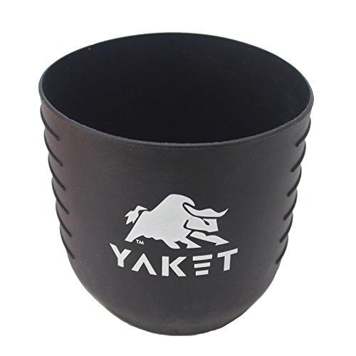 (YAKET Grip for YETI Rambler Tumbler (Shadow Black, 30 oz.))
