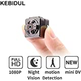 KEBIDUL SQ8 Mini Camera 1080p 720p Full HD Dashcam Night Vision Home Infrared Aluminum Digital Video Recorder