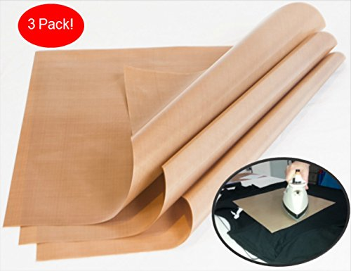 3 Pack Teflon Sheets FK Essentials