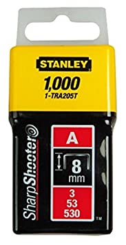 Stanley 1-TRA206-5T Agrafe 10 mm Type A Bo/îte 5000 pi/èces