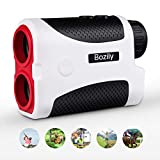 Bozily Golf Rangefinder, 6X Laser Range Finder 900 Yards, Flag-Lock, Slope Tech, 4