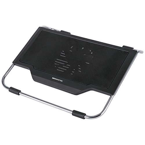MANHATTAN Notebook Cooling Stand with USB Ports (Manhattan Notebook Cooling)