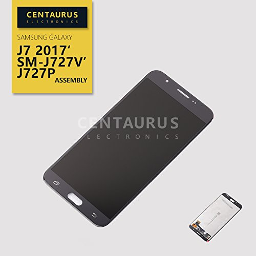 Samsung Galaxy J7 Sky Pro/Galaxy J7 2017 SM-J727A J727U J727T J727T1 J727R4 J727V J727 J727P SM-S727VL S737TL 5.5Assembly LCD Replacement Display Touch Screen Digitizer Black