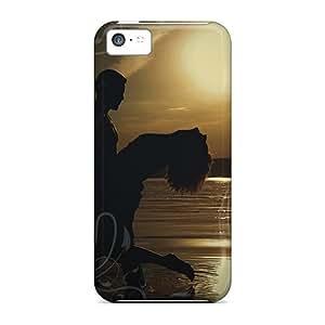 meilz aiaiFor Iphone 5c Phone Cases Covers(sunset Love)meilz aiai
