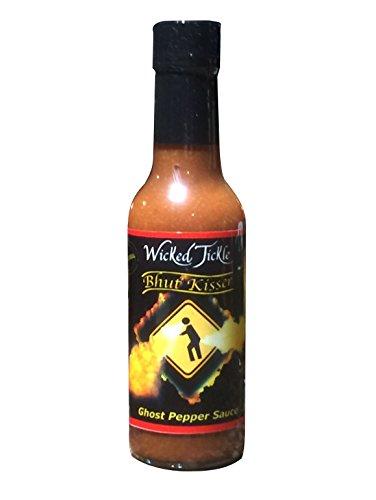 Ghost Pepper Hot Sauce Wicked Tickle Bhut Kisser Very Hot Award Winning Sauce