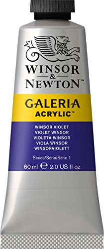 Galeria Acrylic Paint 60ml/Tube-Winsor Violet (Violet Acrylic Paint)