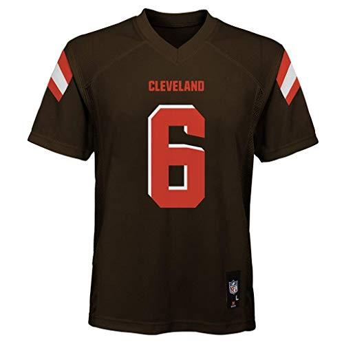 Outerstuff Baker Mayfield Cleveland Browns NFL Kids 4-7 Brown Home Mid-Tier Jersey (Kids 5/6)