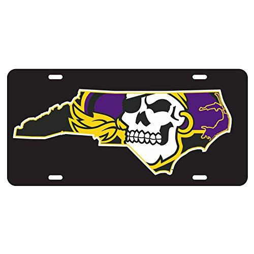 East Carolina Pirates Tag ECU BLK/STATE -