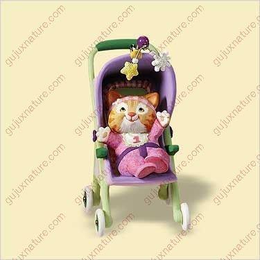 2006 Babys First Ornament - BABY'S 1ST CHRISTMAS CHRISTMAS - GIRL 2006 Hallmark Ornament QXG2883