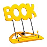 K&M 12440-012-61 UNI-BOY BOOK STAND YELLOW Music stands