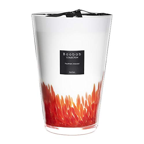 Baobab-Collection Feathers Masaai Scented Candle - 35cm