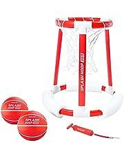 GoSports Splash Hoop 360 Floating Pool Basketball Game   Includes Hoop, 2 Balls and Pump