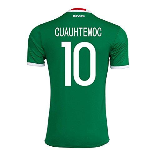 より平らな適合しました究極のadidas Cuauhtemoc #10 Mexico Home Jersey Copa America Centenario 2016 - YOUTH/サッカーユニフォーム メキシコ ホーム用 ジュニア向け