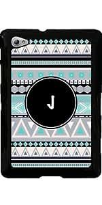 Funda para Samsung Galaxy Tab P6800 - Monograma - Patrón Tribal * J *