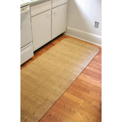 30'' x 84'' Brown Dirtstopper Runner (Brown Blend) (.7''H x 84''W x 30''D) by Bungalow