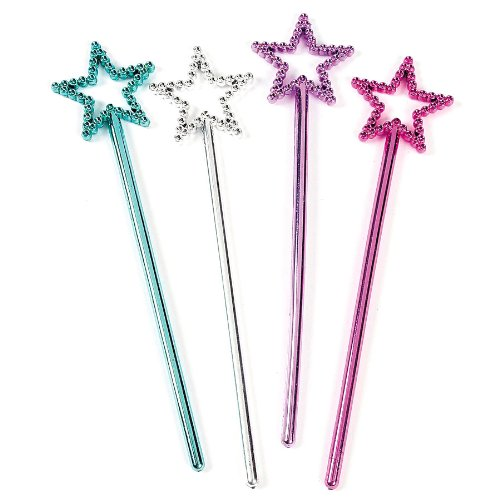 Plastic Fairy Wands Fun Express