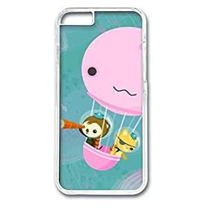 Custom Case with The Octonauts Personalized Back Snap On Case for iPhone 6 4.7 PC Transparent hjbrhga1544