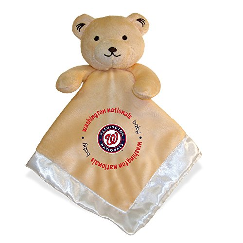 Baby Fanatic Security Bear Blanket, Washington Nationals - Ncaa Snuggle Blanket