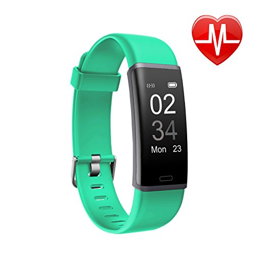 Letsfit Fitness Tracker, Activity Tracker Watch with HR Monitor, Step Counter, Pedometer Watch, Calorie Counter Smart Watch for Kids Women and Men (Watch Computer Activity)