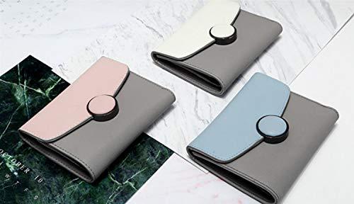 Portafoglio Per Pink Portatile Gray color Unisex Pelle Da Dark Olprkgdg Minimalista Tasca In d1TxqpS