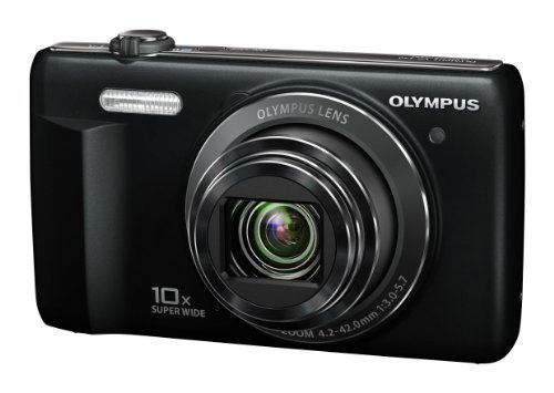 Olympus D-755 Digital Camera 16.0 MP with 10x Optical Zoom H