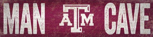 Fan Creations Texas a&M University Man Cave Sign M, Multicolored