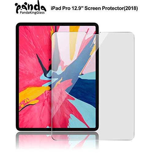 Pandakingglass Ipad Pro 12 9 Inch Screen Protector For New Ipad Pro 12 9 2018 Release 3x Stronger Gorilla Glass Anti Scratch Tempered Glass Screen Protector For The All Screen Apple Ipad Pro 12 9
