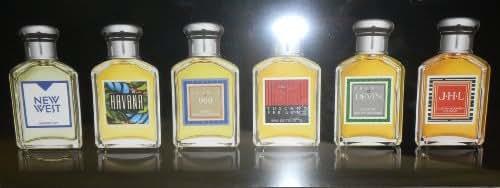 Aramis Gentleman's Collection 2011 Includes: 6pc Set, Each 0.25 Oz/7ml Edt: New West, Havana, Aramis 900, Tuscany Per Uomo, Devin, & JHL