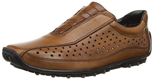 Rieker 08979-24 - Mocasines Hombre Marrón - Brown (Brandy/Peanut)