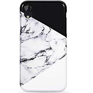 VIVIBIN iPhone XR Case,Cute Black and White Marble for Men Women Girls Clear Bumper Slim Fit Glossy TPU Soft Silicone Rubber Best Protective Cover Thin Phone Case for New iPhone XR 6.1 inch (B07H76YSKH) | Amazon price tracker / tracking, Amazon price history charts, Amazon price watches, Amazon price drop alerts