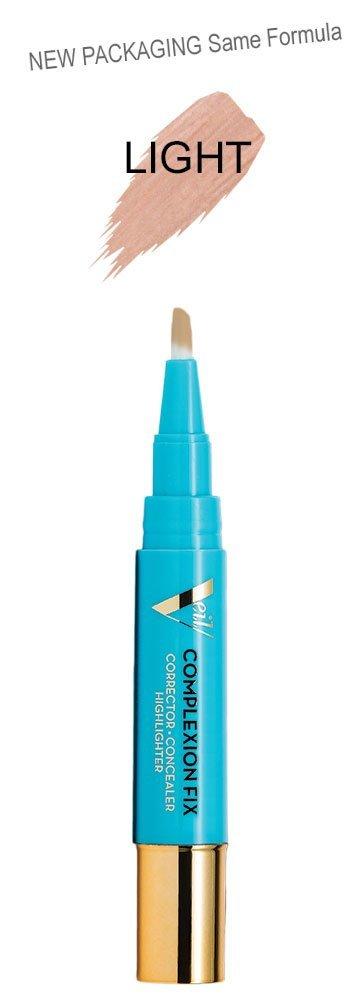 Veil Cosmetics Complexion Fix Concealer (2P Light Pink) for Dark Undereye Circles, Spot Coverage, Vegan & Cruelty Free