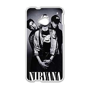 Nirvana White htc m7 case