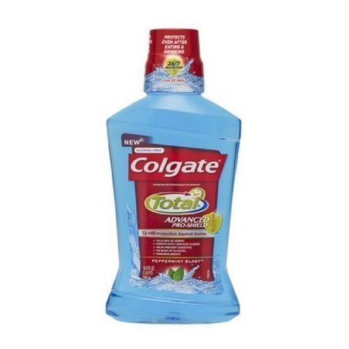 Colgate Tot Mw Pmint Tria Size 2.03z Colgate Total Mouthwash Peppermint Trial Size 2.03z by Colgate