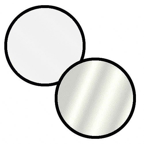 Impact Collapsible Circular Reflector Disc - Silver/White - (Impact Collapsible)
