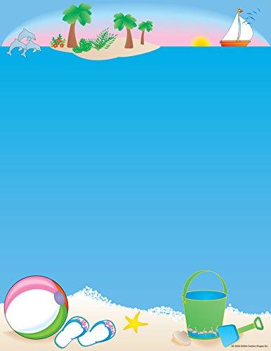 Beach Designer Paper -